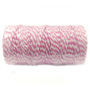 Wrapables 12-Ply Cotton Baker's Twine, 110-Yard, Hot Pink