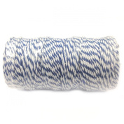 Wrapables 12-Ply Cotton Baker's Twine, 110-Yard, Navy