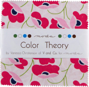 Colour Theory Moda Charm Pack By Vanessa Christenson of V & Co.; 110cm - 13cm Quilt Squares