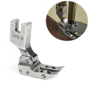 Aisster(TM) Roller Foot Presser Foot Snap-On High Shank Leather Sewing Accessories for Singer Juki Industrial Sewing Machine