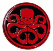 Marvel Comics Captain America HYDRA Logo Metal/Enamel BELT BUCKLE