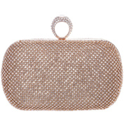 Fawziya Knuckles Clutch Purses For Women' s Clutches And Evening Bags