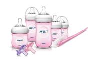 Philips Avent SCD296/11 BPA Free Natural Infant Starter Set, Pink, 1 ea