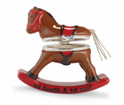 Mud Pie Tooth and Curl Keepsake Box, Rocking Horse