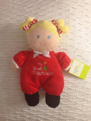 Baby Starters 23cm My First Christmas Plush Doll Rattle