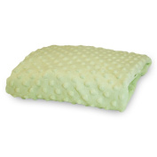 Rumble Tuff Minky Dot Changing Pad Cover, Sage,Standard