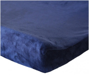 Oliver B Minky Changing Pad Cover- Navy