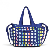 Built Go-Go Nappy Tote, In Baby Dot Number 9