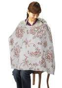 Simplicity Breastfeeding Nursing Poncho Cover Up, Grey