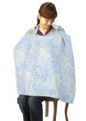 Simplicity Breastfeeding Nursing Poncho Cover Up, Blue