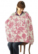 Simplicity Breastfeeding Nursing Poncho Cover Up, Red Flower