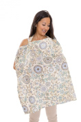 Zenoff Products Nursing Cover Buttercup Bliss, Yellow, Green