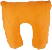 Nook Niche Feeding Pillow - Poppy Orange