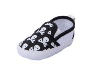 JTC Baby Crawl Crib Skull Printed Slip- On Leisure Single Shoes