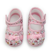 ReFaxi® Cute Baby Girl Newborn Toddler Infant Prewalker Cotton Bowknot Crib Shoes