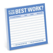 Knock Knock is That Your Best Work? Sticky Note