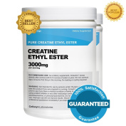 Creatine Ethyl Ester (CEE) (2 Pack)- Pure Creatine Ethyl Ester - Rapid Absorption Creatine - 3000mg Per Serving