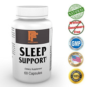 Sleep Support-Maximum Strength Advanced Natural Sleep Supplement With Clinically Proven Nutrients To Aid In Natural Rest, Support Your Body After A Hard Workout & Help You Wake Up Feeling Refreshed. Risk Free Trial, It Works Or Your Money Back