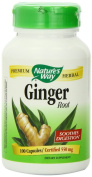 Nature's Way Ginger Root, 550 mg, 300 Capsule Jumbo Size Pack