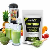 Modern Sip Matcha Green Tea Powder - Great, Tasting Easy to Make Matcha Tea -100% Natural for Sipping, Baking, Smoothies & Green Tea Lattes- Best Green Tea Matcha on Amazon - Guaranteed- 100% Natural Matcha Powder