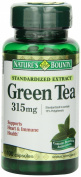 Nature's Bounty Green Tea Extract, 315mg, 300 Capsules