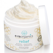 Era Organics Eczema & Psoriasis Cream (120ml) Advanced Healing Moisturiser for Dry, Sensitive Skin. Unique 10-in-1 Formula with Aloe Vera, Shea Butter, Manuka Honey, Coconut Oil and More. Fragrance Free, Hypoallergenic, Non-greasy Treatment for Instant ..