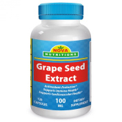 Grape Seed Extract 100 mg 120 Capsules by Nova Nutritions