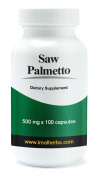 Saw Palmetto - 500mg X 100 Capsules - All the Benefits of Saw Palmetto, Concentrated in Capsule Form