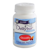 Bellybar Chewable Prenatal Vitamins, Mixed Fruit Flavour, 60-Count