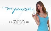 NEW ITEM Myamor Organic Rejuvenation Serum With Retinol, Vitamin C, Vitamin E, Grape Seed Oil, Tea Tree Oil, Hyaluronic Acid and More