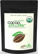 Premium Organic Raw Cacao/Cocoa Powder, Rich Dark Chocolate Taste - 1lb470ml bag