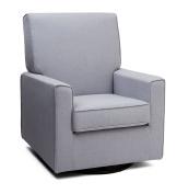 Delta Children's Products™ Eva Upholstered Glider - Heather Grey