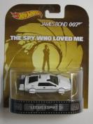 "Lotus Esprit S1 James Bond 18cm The Spy Who Loved Me"" Hot Wheels 2014 Retro Series 1/64 Die Cast Vehicle"