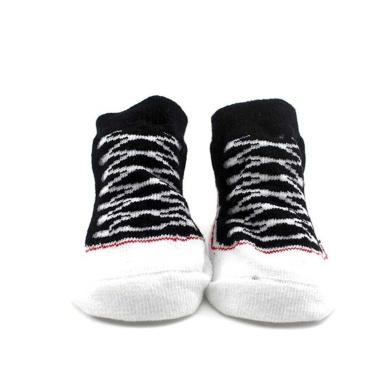 Child Toddler Shoes Printing Baby Socks Cute Cotton Footwear Keep Warm Black