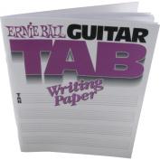 Ernie Ball 7021 Guitar Tab Writing Paper