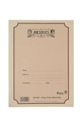 Archives Standard Bound Manuscript Paper Book, 10 Stave, 48 Pages