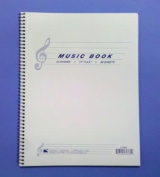 Comet Music Notebook 12 Staves