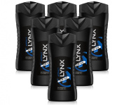 6x Lynx Attract Shower Gel Mens Body Wash For Him 250ml
