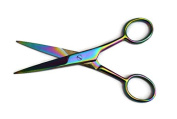 "Rainbow Multi Coloured Hair Dressing Scissors 5.5"" / 14cm"