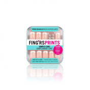 Fing'rs Prints Pre Glued Simply Chic Nails, Class Act