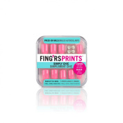 Fing'rs Prints Pre Glued Simply Chic Nails, Pretty In Pink