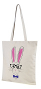 Packable Canvas Shopping Bag Folds Flat Ideal Holiday-Beach-Pool-Swim-Tote