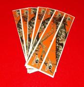 Mossy Oak Obsession Arrow Wraps Blaze Orange Camo Pkg/12