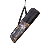 October Mountain Products Adventure Hunter 3 Tube Hip Quiver Black/Camo Right Hand