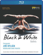 Jirí Kylián's Black & White Ballets [Regions 1,2,3] [Blu-ray]