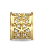 White Lunar Love Gold Charm 1680 Endless Jennifer Lopez Collection