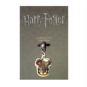 Official Harry Potter silver plated slider charm - Gryffindor Crest charm