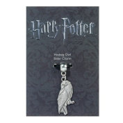 Official Harry Potter silver plated slider charm - Hedwig the Owl