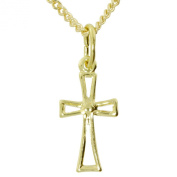 InCollections 2410100006401 Women's Pendant Necklace Yellow Gold 8 Carats 333/1000
