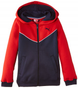Puma Boy's Fun TD Hooded Fleece Sweat Jacket